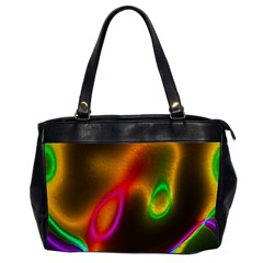 Vibrant Fantasy 4 Office Handbags (2 Sides)  by MoreColorsinLife