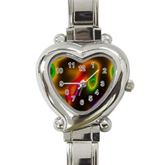 Vibrant Fantasy 4 Heart Italian Charm Watch