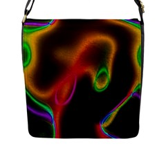 Vibrant Fantasy 4 Flap Messenger Bag (l)  by MoreColorsinLife