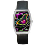 Vibrant Fantasy 5 Barrel Style Metal Watch Front