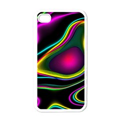 Vibrant Fantasy 5 Apple Iphone 4 Case (white) by MoreColorsinLife