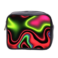 Vibrant Fantasy 1b Mini Toiletries Bag 2 Side by MoreColorsinLife
