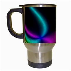 Vibrant Fantasy 3 Travel Mugs (white) by MoreColorsinLife