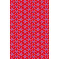 Flower Of Life Pattern Red Purle 5 5  X 8 5  Notebooks by Cveti