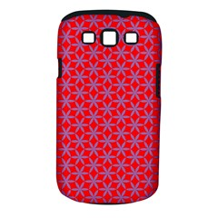 Flower Of Life Pattern Red Purle Samsung Galaxy S Iii Classic Hardshell Case (pc+silicone) by Cveti