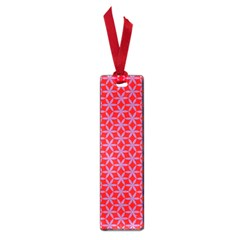 Flower Of Life Pattern Red Purle Small Book Marks by Cveti