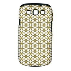 Flower Of Life Pattern Cold White Samsung Galaxy S Iii Classic Hardshell Case (pc+silicone) by Cveti