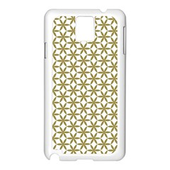 Flower Of Life Pattern Cold White Samsung Galaxy Note 3 N9005 Case (white)