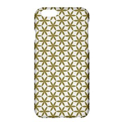 Flower Of Life Pattern Cold White Apple Iphone 6 Plus/6s Plus Hardshell Case by Cveti