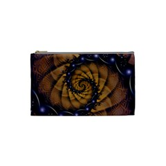 An Emperor Scorpion s 1001 Fractal Spiral Stingers Cosmetic Bag (small)  by jayaprime