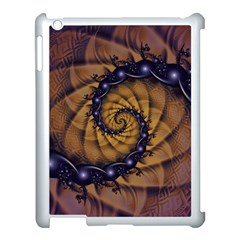 An Emperor Scorpion s 1001 Fractal Spiral Stingers Apple Ipad 3/4 Case (white) by jayaprime