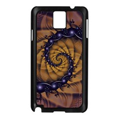 An Emperor Scorpion s 1001 Fractal Spiral Stingers Samsung Galaxy Note 3 N9005 Case (black) by jayaprime