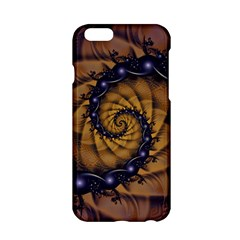 An Emperor Scorpion s 1001 Fractal Spiral Stingers Apple Iphone 6/6s Hardshell Case by jayaprime