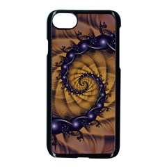 An Emperor Scorpion s 1001 Fractal Spiral Stingers Apple Iphone 7 Seamless Case (black) by jayaprime