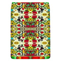Chicken Monkeys Smile In The Floral Nature Looking Hot Flap Covers (l)  by pepitasart