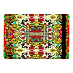 Chicken Monkeys Smile In The Floral Nature Looking Hot Samsung Galaxy Tab Pro 10 1  Flip Case by pepitasart