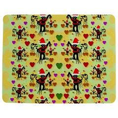 Santa With Friends And Season Love Jigsaw Puzzle Photo Stand (rectangular) by pepitasart