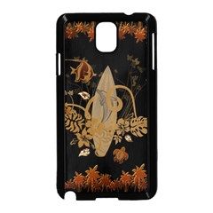 Hawaiian, Tropical Design With Surfboard Samsung Galaxy Note 3 Neo Hardshell Case (black) by FantasyWorld7