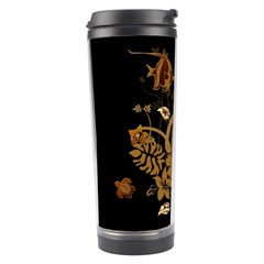 Hawaiian, Tropical Design With Surfboard Travel Tumbler by FantasyWorld7