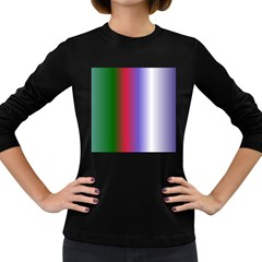 Pattern Women s Long Sleeve Dark T Shirts by gasi