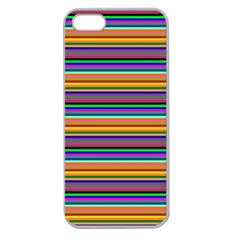 Pattern Apple Seamless Iphone 5 Case (clear) by gasi