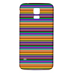Pattern Samsung Galaxy S5 Back Case (white) by gasi