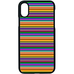 Pattern Apple Iphone X Seamless Case (black) by gasi