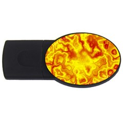Pattern Usb Flash Drive Oval (2 Gb) by gasi