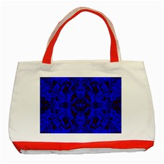 Pattern Classic Tote Bag (red) by gasi