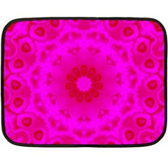 Pattern Double Sided Fleece Blanket (mini)  by gasi