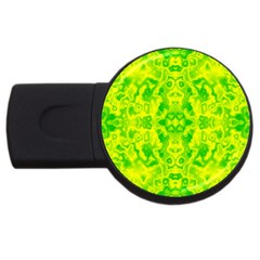 Pattern Usb Flash Drive Round (4 Gb) by gasi