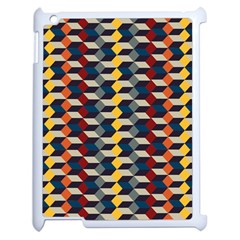 Native American Pattern 3 Apple Ipad 2 Case (white) by Cveti