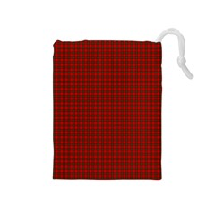 Royal Stuart Tartan Drawstring Pouches (medium)  by PodArtist