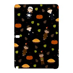 Pilgrims And Indians Pattern   Thanksgiving Samsung Galaxy Tab Pro 12 2 Hardshell Case by Valentinaart