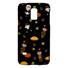 Pilgrims And Indians Pattern   Thanksgiving Galaxy S5 Mini
