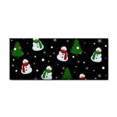 Snowman Pattern Cosmetic Storage Cases by Valentinaart
