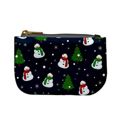 Snowman Pattern Mini Coin Purses by Valentinaart