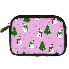 Snowman Pattern Digital Camera Cases