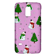 Snowman Pattern Galaxy S5 Mini