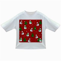 Snowman Pattern Infant/toddler T Shirts