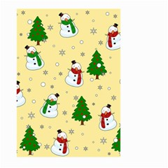 Snowman Pattern Large Garden Flag (two Sides)