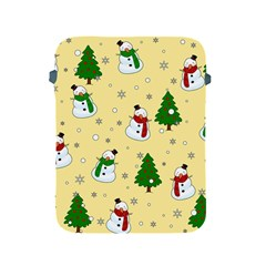Snowman Pattern Apple Ipad 2/3/4 Protective Soft Cases