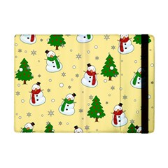 Snowman Pattern Ipad Mini 2 Flip Cases by Valentinaart