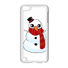 Kawaii Snowman Apple Ipod Touch 5 Case (white) by Valentinaart