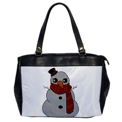 Kawaii Snowman Office Handbags