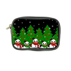 Kawaii Snowman Coin Purse