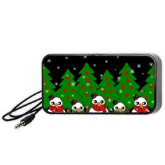 Kawaii Snowman Portable Speaker
