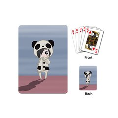 Kawaii Panda Girl Playing Cards (mini)