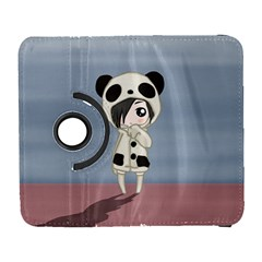 Kawaii Panda Girl Galaxy S3 (flip/folio) by Valentinaart