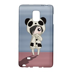 Kawaii Panda Girl Galaxy Note Edge by Valentinaart